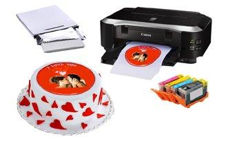 Impresoras para tinta comestible